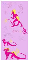 Sketch Page 0025 - Pink Glitch the ???