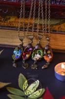 Forest Acorns Pendants by Dar-Pustoshi