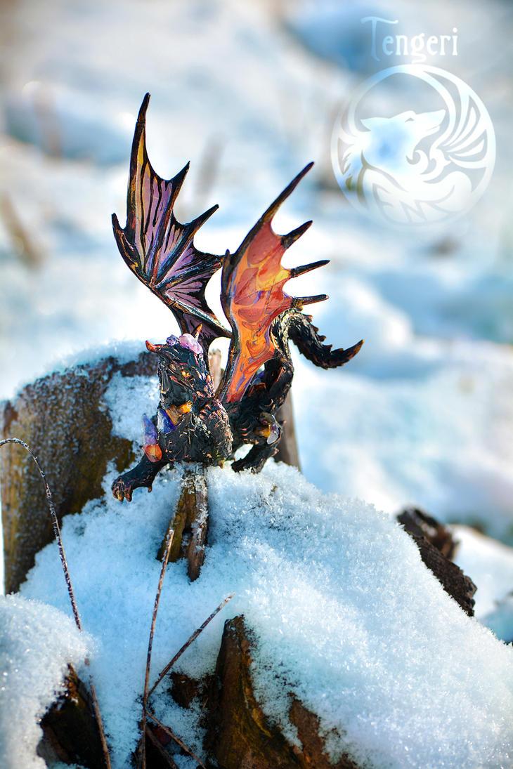 Lava Dragon Rakshas by Dar-Pustoshi
