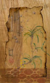 Umbrella Pine and Gnat Swarm