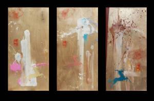 Sold - Neopolitan - triptych