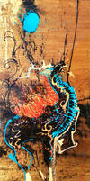 Sold - Qilin and Rising Moon