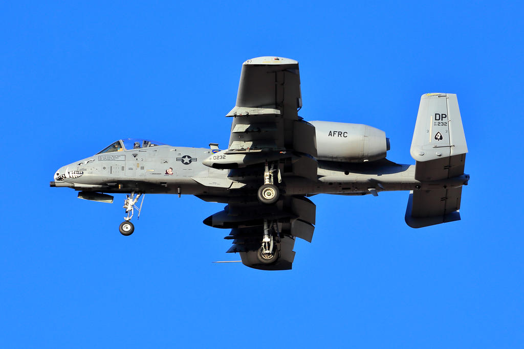 A-10 Thunderbolt (warthog) by Mammoth-Hunter