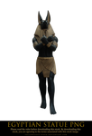 egyptian statue png