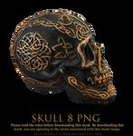 skull 8 png