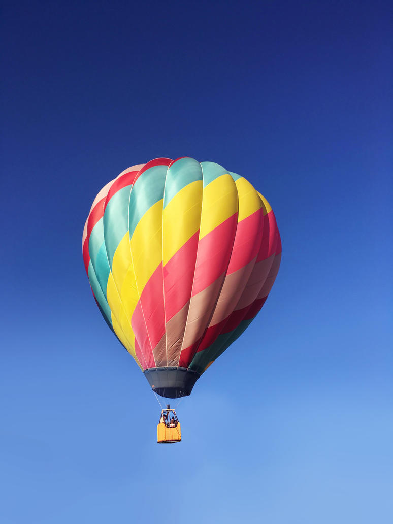 hot air balloon 3 by yellowicous-stock