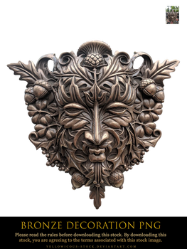 bronze decoration png