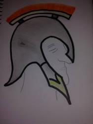 Pictograma de casco romano by fmoscuro