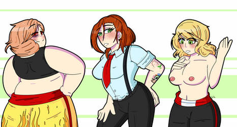 Commission: The Ladies of Les Dix #9 by bellyboys by EVBrock