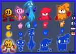 PacMan and Ghost.2