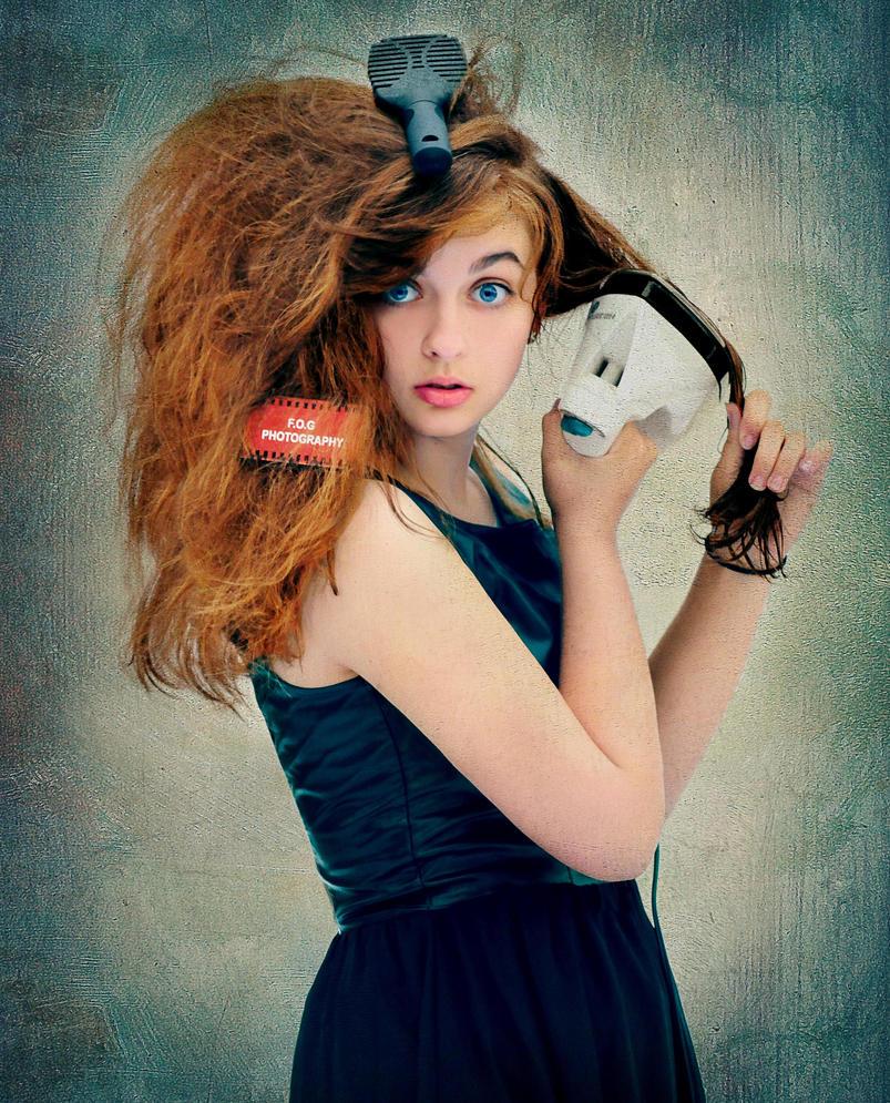 Iron Hair by BENAFOG