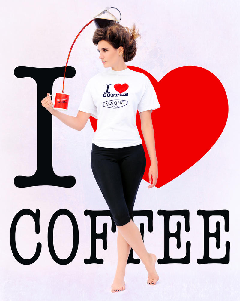 I love Coffee by BENAFOG