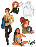 Disney High Sketch Dump