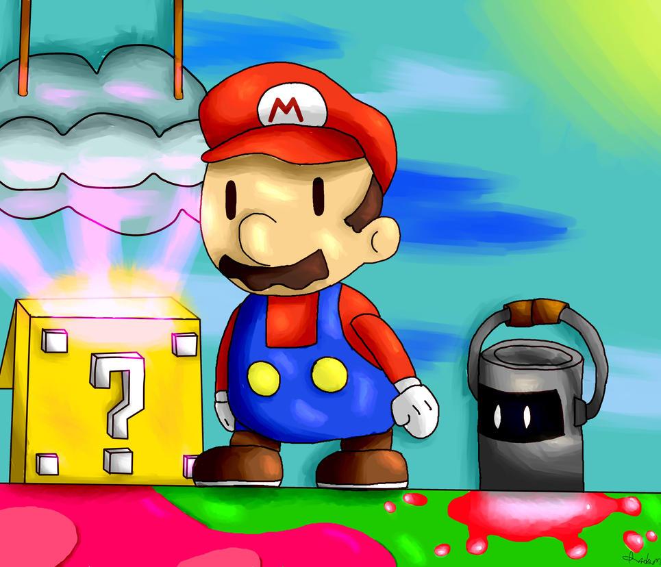 Paper Mario Color Splash by Radrim