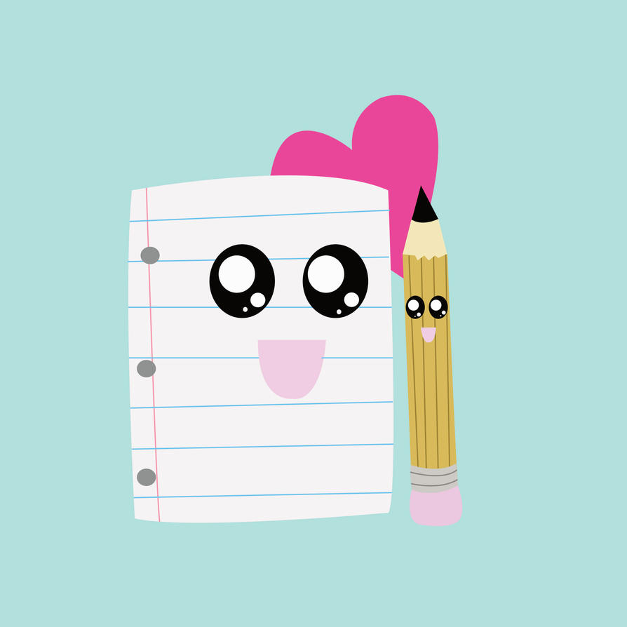 Paper And Pencil Love by chkimbrough on DeviantArt