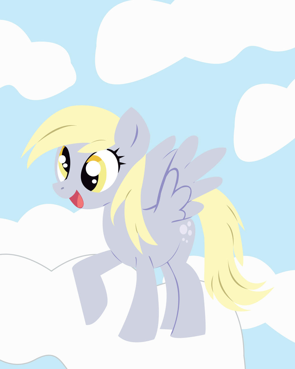 Derpy Hooves Vectoring By Chkimbrough On Deviantart