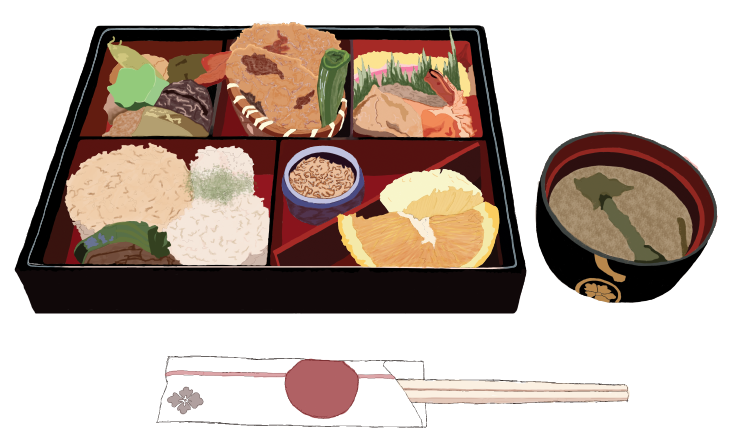 Bento Box Meal Digital Painting By Chkimbrough On DeviantArt