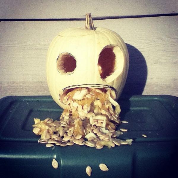 2014 Pumpkin Vomit by chkimbrough