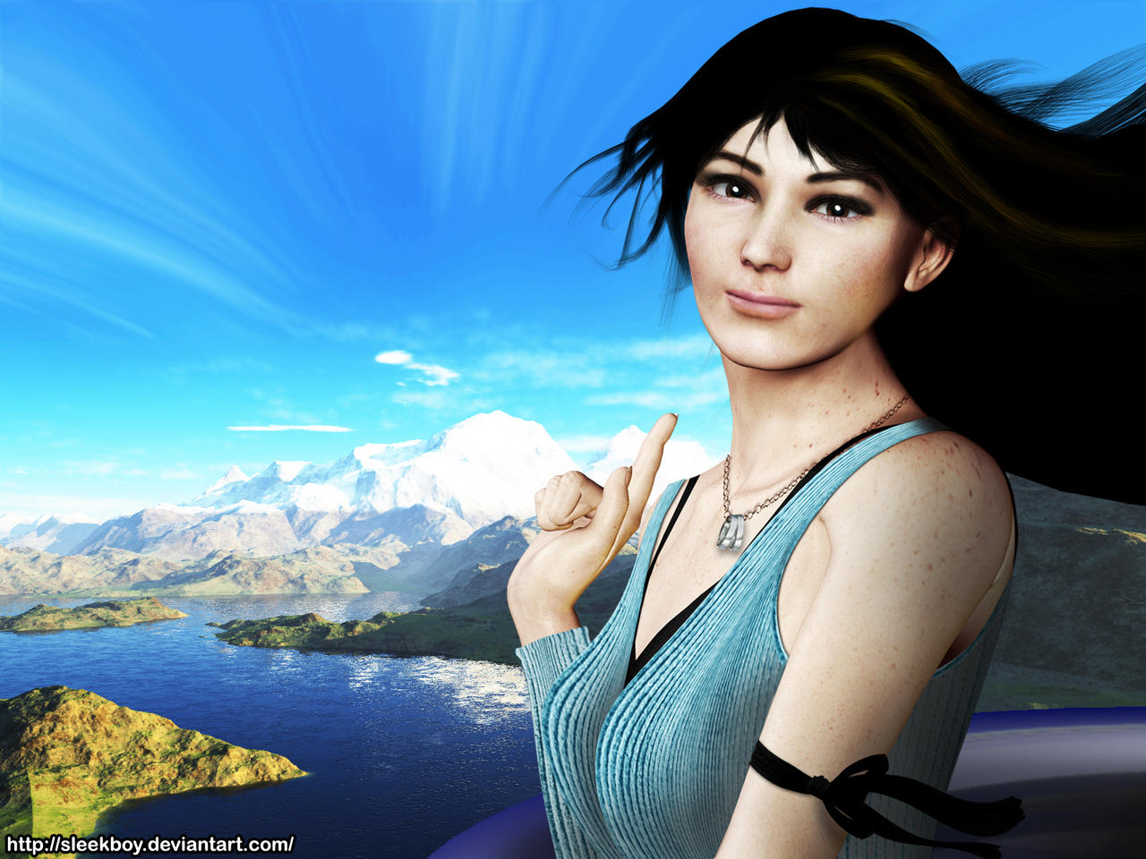FF VIII: Eyes On Her