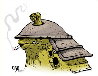 Slug Soldier color by Sabacooza