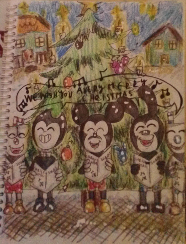 old cartoons : christmas song by westhemime on DeviantArt