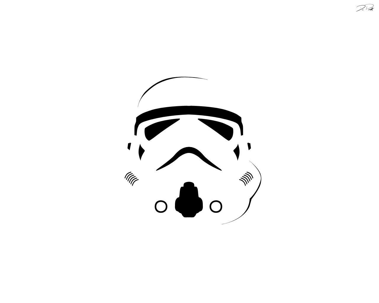 Clone Trooper Helmet Vector StormTrooper by Preci
