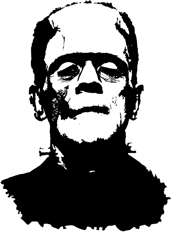 frankensteins monster boris karloff by artcaue on