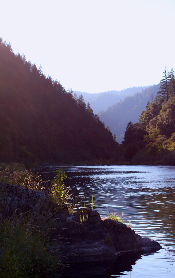 Morning Light Over The Rogue River by pengirl389265