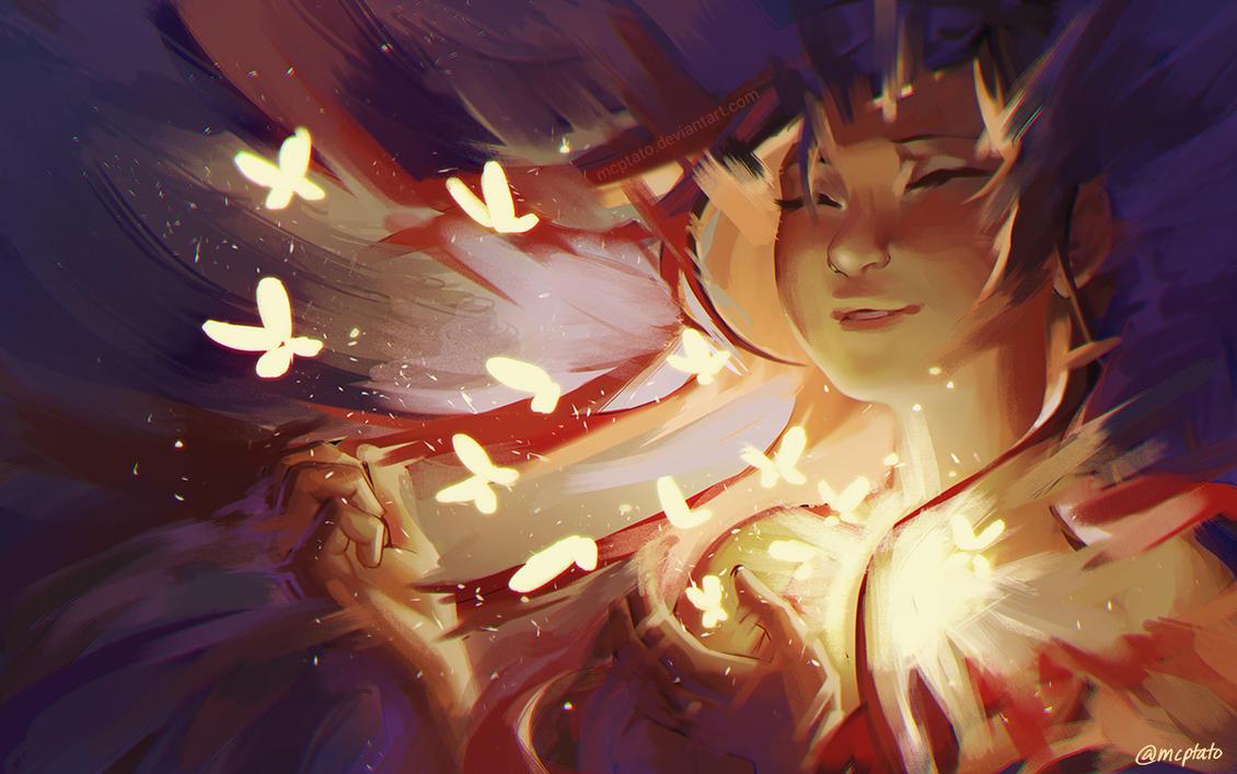 Fluttering Soul by mcptato