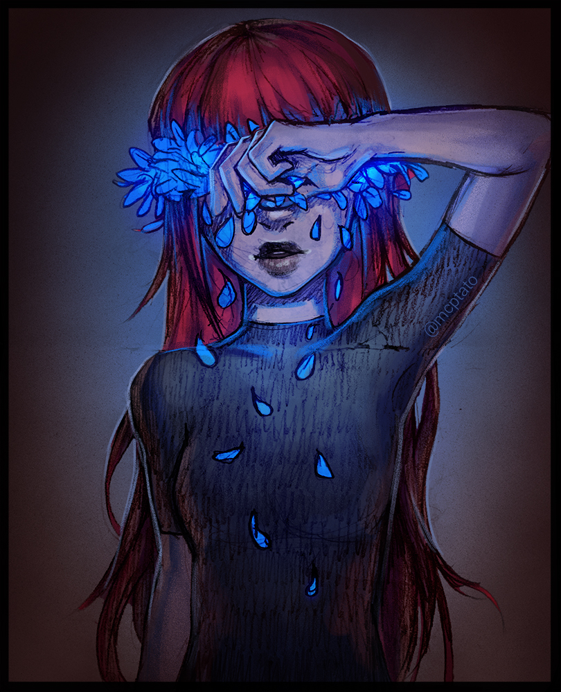 [190] Violets are Blue by mcptato on DeviantArt