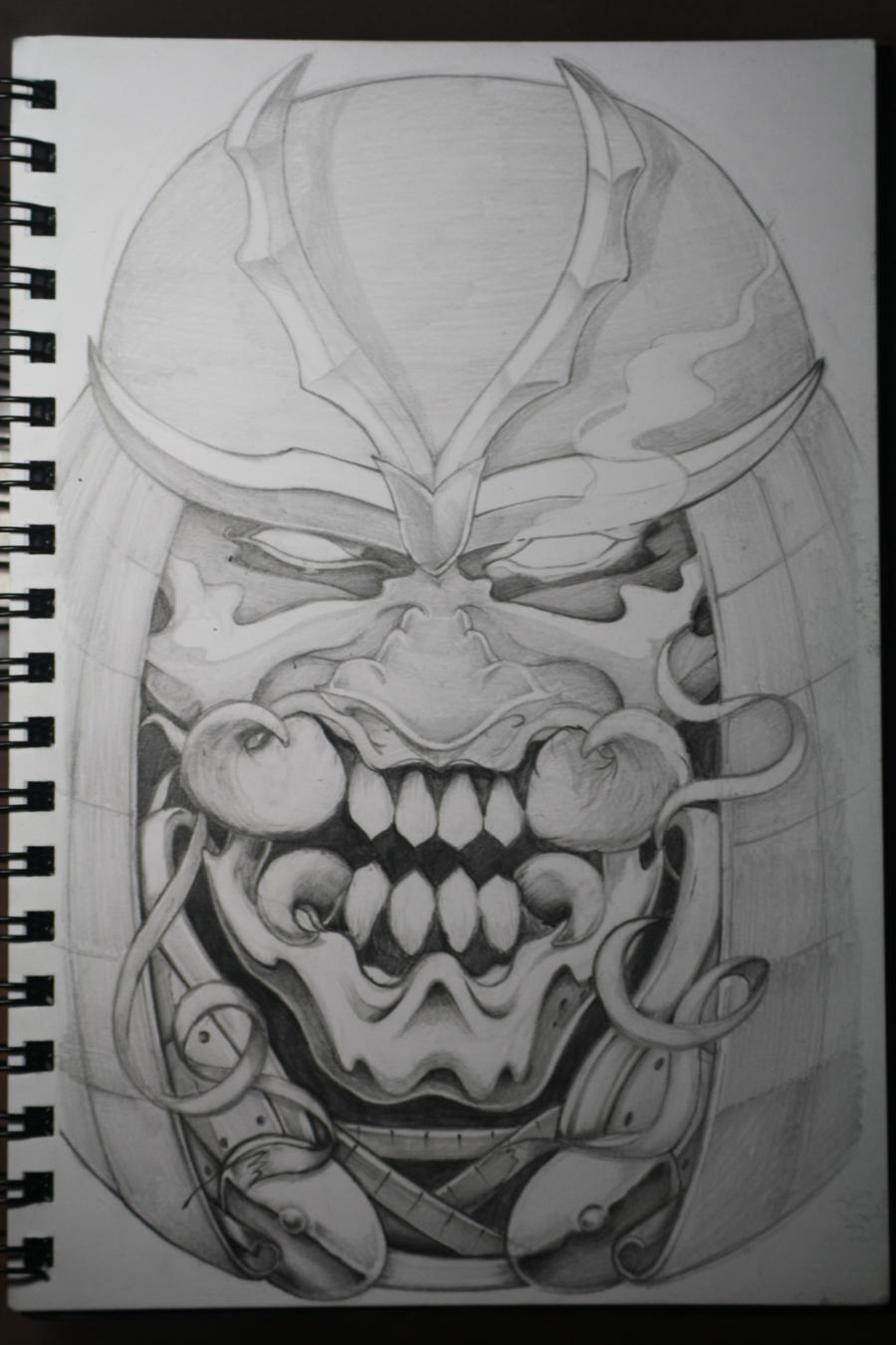 samurai mask by alboyer on DeviantArt