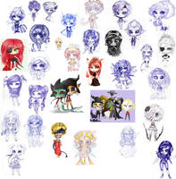 Like 34 chibis by CantoChi