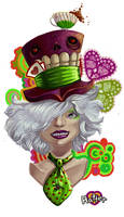The mad hatter by CantoChi