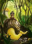 Teo riding Lak