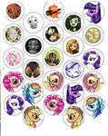 button designs by CantoChi