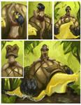 Tea and lak comic page