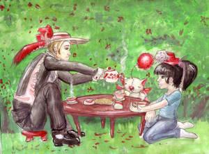 Tea party fun.