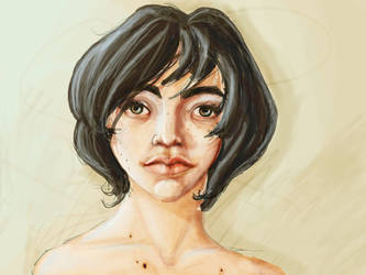 Self portrait again by CantoChi