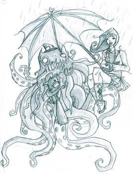 Pimpin squid