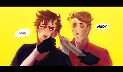 Out Hunting [Hannigram] by ChromaMode