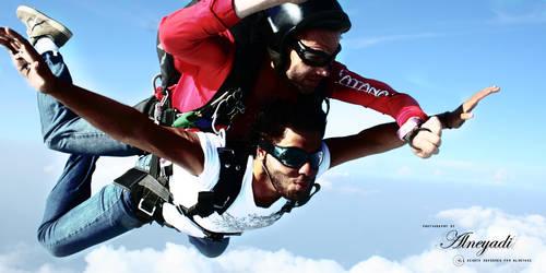 UAE IN Sky Diving