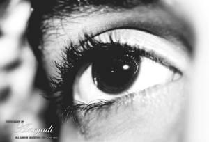 serious eye