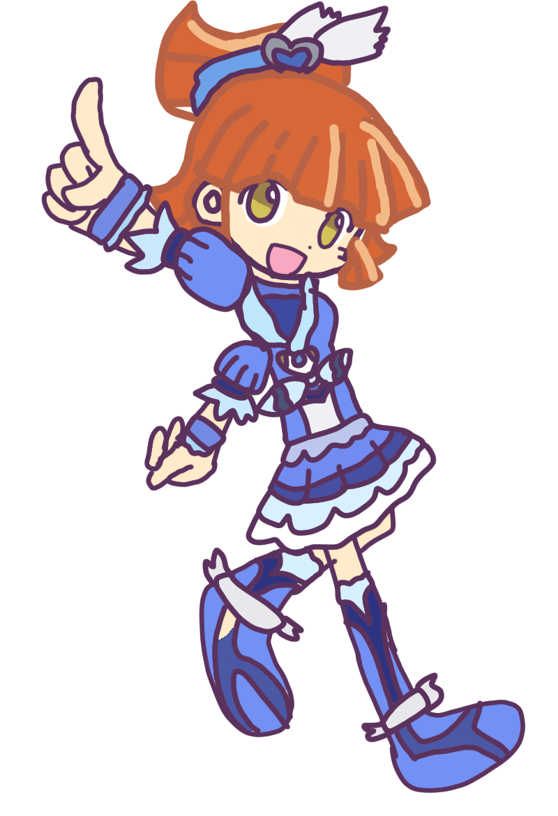 Puyo Puyo Arle Nadja As Cure Beat By Hikawa84 On Deviantart The main heroine of both games, arle is a magician who is good friends with carbuncle. puyo puyo arle nadja as cure beat by