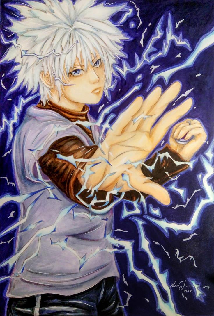 HXH FA: Lightning by Hallowie29