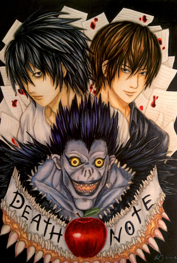 Death Note FA: In Between by Hallowie29