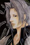 Final Fantasy VII Fan Art: One-Winged Angel