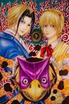 Majin Tantei Nougami Neuro Fanart: Demon Detective by Hallowie29