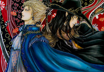 Vampire Hunter D Fanart - The Noble and the Hunter by Hallowie29