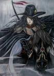 Vampire Hunter D Fan Art - Cold Rain