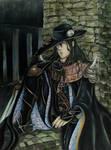 Vampire Hunter D Fan Art - Labyrinth by Hallowie29